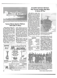 Maritime Reporter Magazine, page 36,  Mar 1988