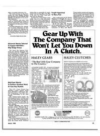 Maritime Reporter Magazine, page 37,  Mar 1988 California