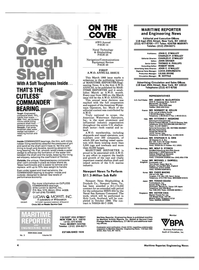 Maritime Reporter Magazine, page 2,  Mar 1988 Connecticut