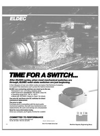 Maritime Reporter Magazine, page 42,  Mar 1988 Eldec Corporation