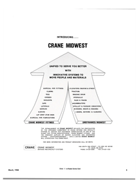 Maritime Reporter Magazine, page 3,  Mar 1988 CRANE MIDWEST DEFENSE AND SPECIALTY SYSTEMS