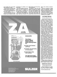 Maritime Reporter Magazine, page 50,  Mar 1988 Switzerland Diesel Engine Division
