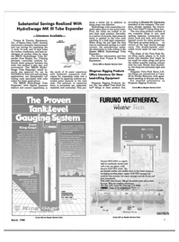 Maritime Reporter Magazine, page 7,  Mar 1988 FAX-208A is a superb high-res weatherfax receiver and