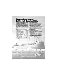 Maritime Reporter Magazine, page 13,  Apr 1988 Caterpillar Inc
