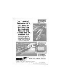 Maritime Reporter Magazine, page 23,  Apr 1988 shiplift technology