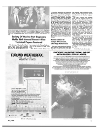 Maritime Reporter Magazine, page 11,  May 1988