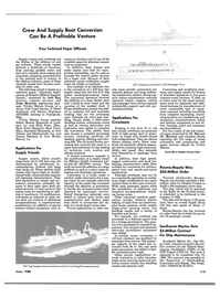 Maritime Reporter Magazine, page 105,  Jun 1988 mission-related equipment