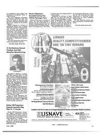 Maritime Reporter Magazine, page 15,  Jun 1988 Ronald F. Walker