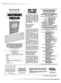 Maritime Reporter Magazine, page 2,  Jun 1988 25th STREET NEW YORK