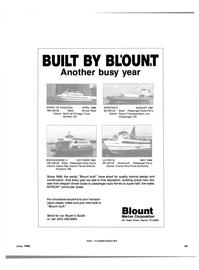 Maritime Reporter Magazine, page 47,  Jun 1988 KRISTEN D AUGUST