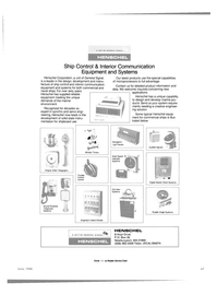 Maritime Reporter Magazine, page 61,  Jun 1988 interior communication equipment