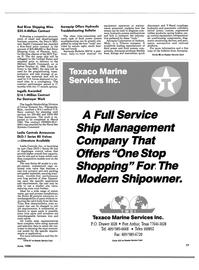 Maritime Reporter Magazine, page 71,  Jun 1988 Mississippi