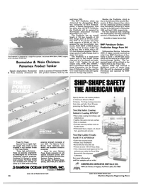 Maritime Reporter Magazine, page 18,  Jul 1988 New Jersey