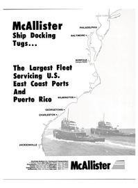 Maritime Reporter Magazine, page 1,  Jul 1988 McAllister Brothers Inc.