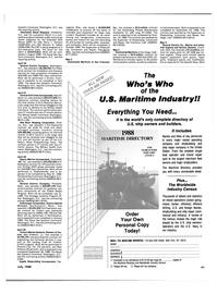Maritime Reporter Magazine, page 29,  Jul 1988 Florida