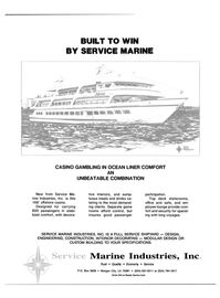 Maritime Reporter Magazine, page 3rd Cover,  Jul 1988 Marine Industries Inc Trust