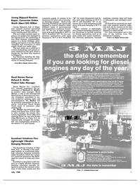 Maritime Reporter Magazine, page 7,  Jul 1988