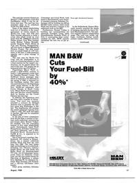 Maritime Reporter Magazine, page 15,  Aug 1988 Thyssen Nordseewerke
