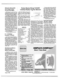 Maritime Reporter Magazine, page 19,  Aug 1988 Carlisle-Finch Refrigerator