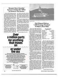 Maritime Reporter Magazine, page 26,  Aug 1988 Illinois