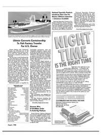 Maritime Reporter Magazine, page 27,  Aug 1988