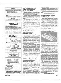 Maritime Reporter Magazine, page 35,  Aug 1988 Illinois