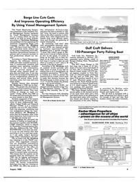 Maritime Reporter Magazine, page 7,  Aug 1988 cost-saving tool