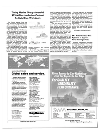 Maritime Reporter Magazine, page 4,  Sep 1988 General Motors EMD-8