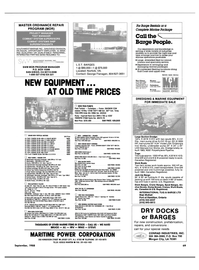 Maritime Reporter Magazine, page 59,  Sep 1988