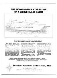 Maritime Reporter Magazine, page 3rd Cover,  Sep 1988 Service Marine Industries Inc Trust