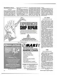 Maritime Reporter Magazine, page 12,  Oct 1988