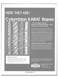 Maritime Reporter Magazine, page 13,  Oct 1988 COLUMBIAN ROPE COMPANY