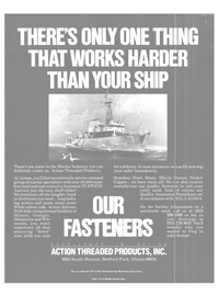 Maritime Reporter Magazine, page 2nd Cover,  Oct 1988 service-oriented