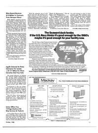 Maritime Reporter Magazine, page 18,  Oct 1988 Florida