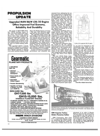 Maritime Reporter Magazine, page 19,  Oct 1988 higher electricity load demands