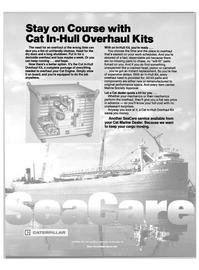 Maritime Reporter Magazine, page 24,  Oct 1988 Caterpillar Inc
