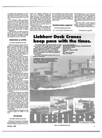 Maritime Reporter Magazine, page 42,  Oct 1988