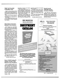 Maritime Reporter Magazine, page 47,  Oct 1988 Florida