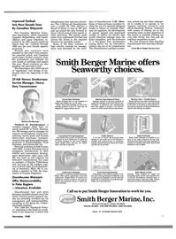 Maritime Reporter Magazine, page 9,  Nov 1988 Washington