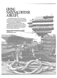 Maritime Reporter Magazine, page 2nd Cover,  Nov 1988 Abraham Lincoln