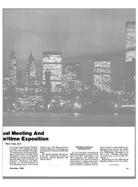 Maritime Reporter Magazine, page 19,  Nov 1988 marine products