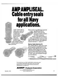 Maritime Reporter Magazine, page 25,  Nov 1988 AMP Products Corporation