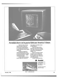 Maritime Reporter Magazine, page 27,  Nov 1988 America