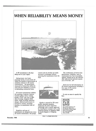 Maritime Reporter Magazine, page 31,  Nov 1988 oil pumps