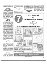 Maritime Reporter Magazine, page 35,  Nov 1988 A-60 Safety