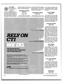 Maritime Reporter Magazine, page 38,  Nov 1988 Connecticut