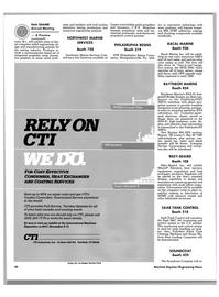 Maritime Reporter Magazine, page 38,  Nov 1988 Connecticut
