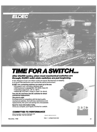 Maritime Reporter Magazine, page 39,  Nov 1988 Eldec Corporation