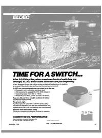 Maritime Reporter Magazine, page 39,  Nov 1988 Eldec Corporation