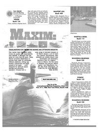 Maritime Reporter Magazine, page 42,  Nov 1988